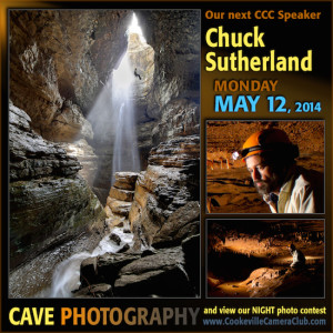 Chuck Sutherland Explorer and Cave Photographer