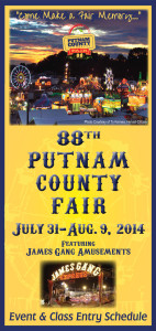 Putnam County Fair Event & Class Entry Book