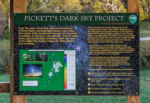 Dark Sky sign